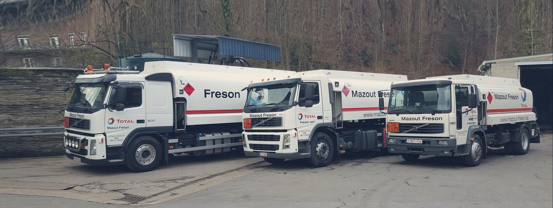 Freson Mazout sprl - Mazout